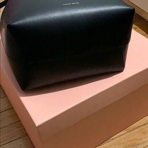 Mansur Gavriel Bags - Mansur Gavriel large bucket bag. Miranda Kerr.